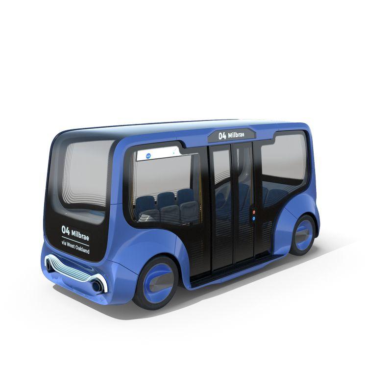 !Autonomous Electric Minibus.H03.2k